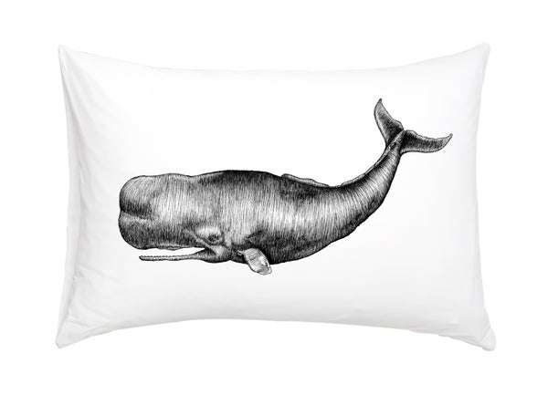 Image of Sperm Whale Pillowcase