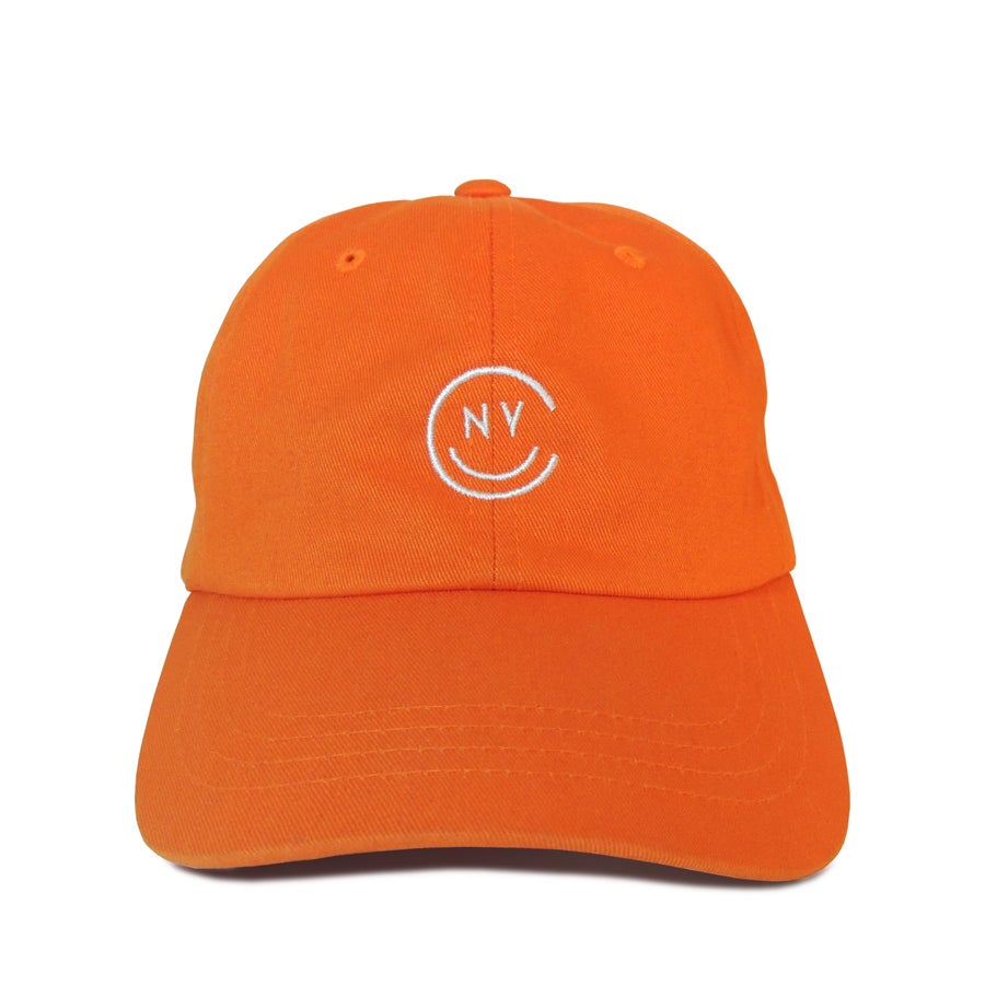 Image of NYC Smile Cap - Orange