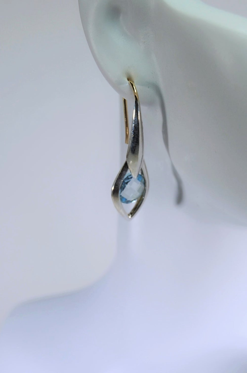 Image of Tratti Blu Earrings