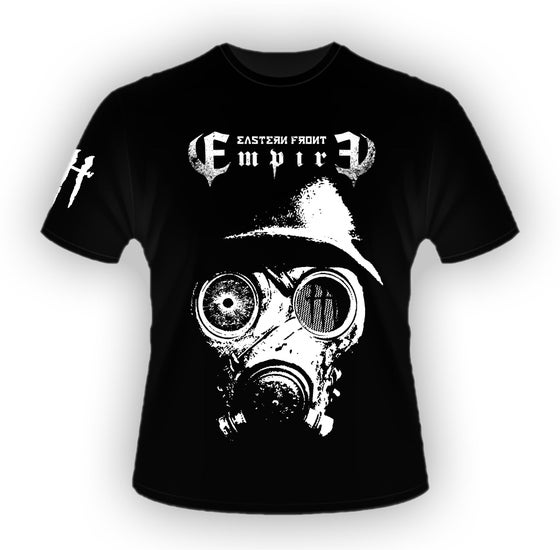Image of ***NEW*** EASTERN FRONT 'EMPIRE' GAS MASK T SHIRT