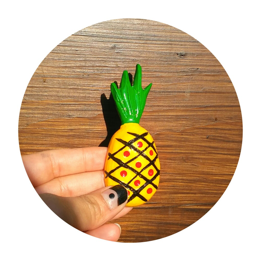 Image of Piña Party brooch