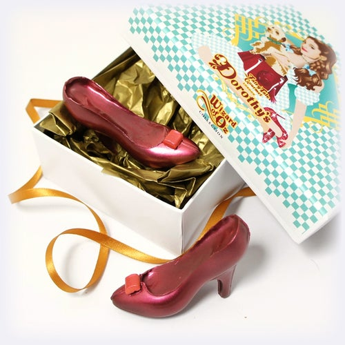 Image of Dorothy's Ruby Chocolate Shoes Game Card