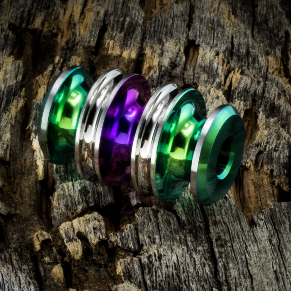 Image of Kraken Polished Green & Purple #1
