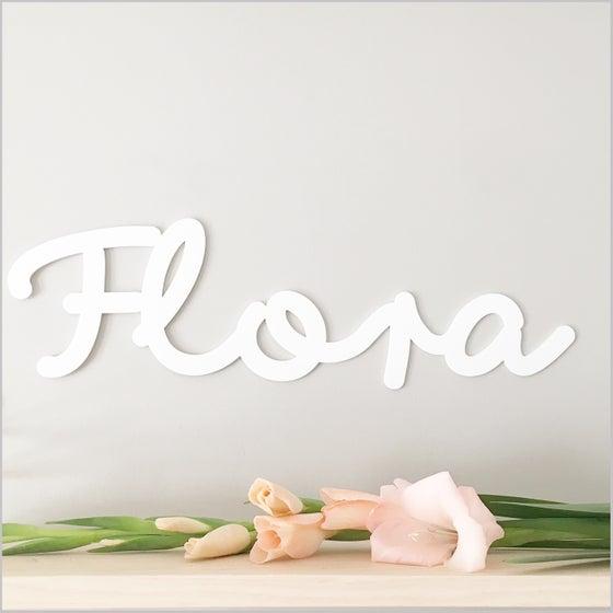Image of custom Acrylic Name Sign Large