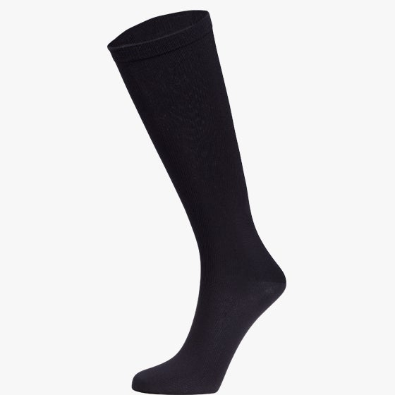 Opaque Ribbed Compression Trouser Socks 1 Pair - MediPeds