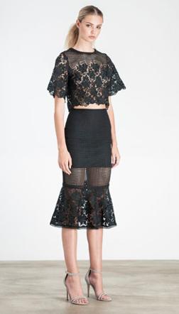 Image of Deco Skirt - Black