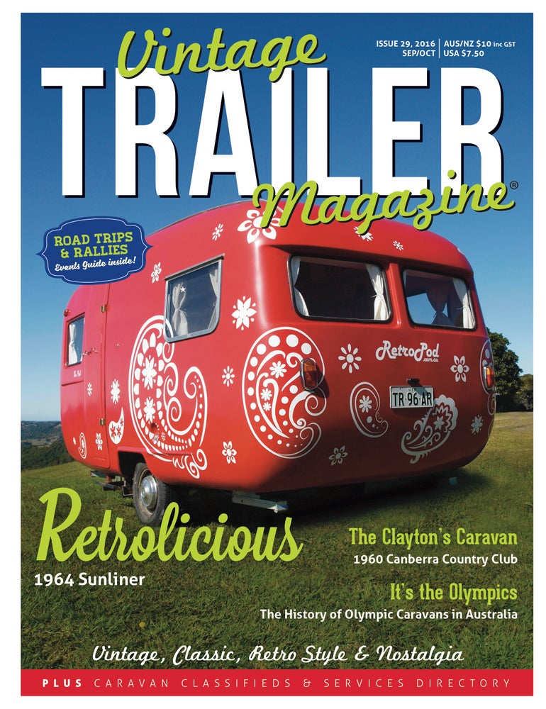 Image of Issue 29 Vintage Trailer Magazine
