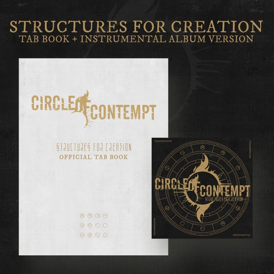 Image of STRUCTURES FOR CREATION – Tab Book + Instrumental Album Bundle