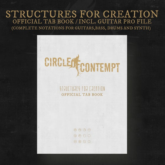 Image of STRUCTURES FOR CREATION - Official Tab Book