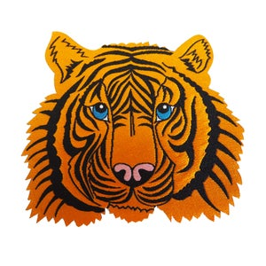 Image of **NEW**Tiger Iron-on Patch
