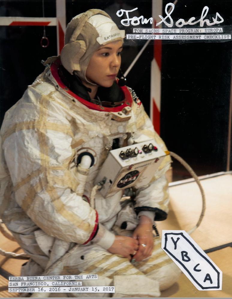 Image of Tom Sachs / Space Program: Europa Catalogue