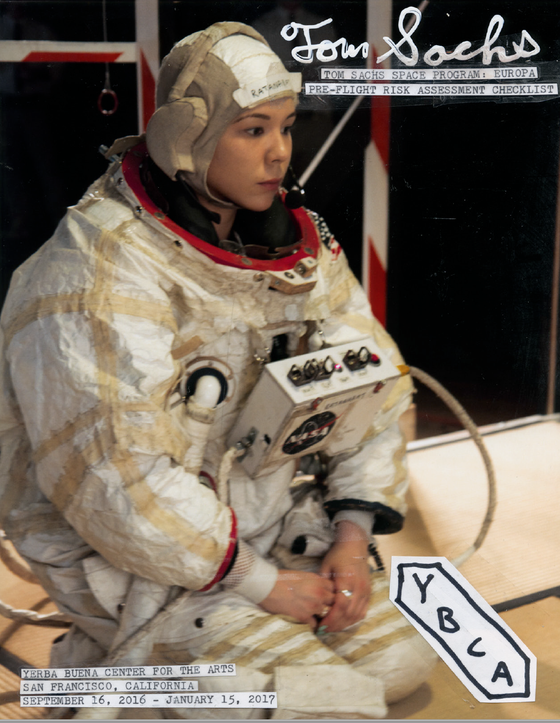 Image of Tom Sachs / Space Program: Europa Catalogue