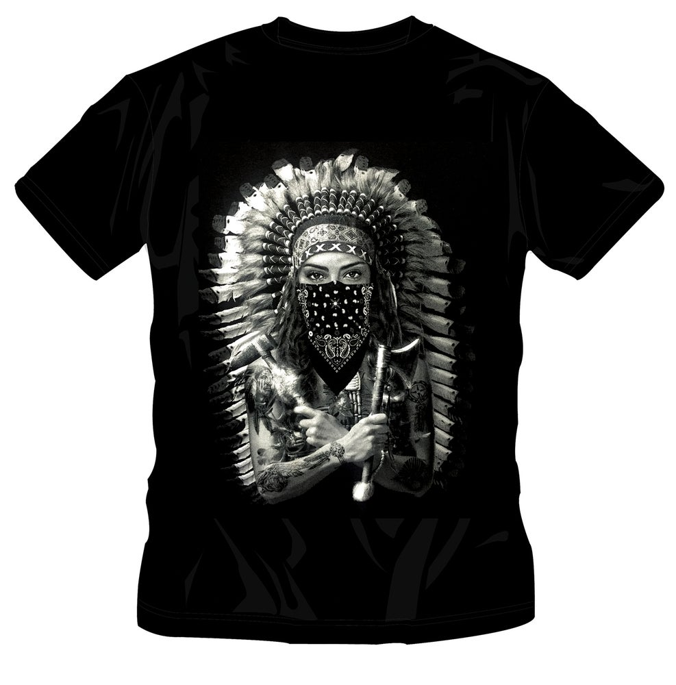 Image of NATIVE AMERICAN  - FEMALE T-SHIRT