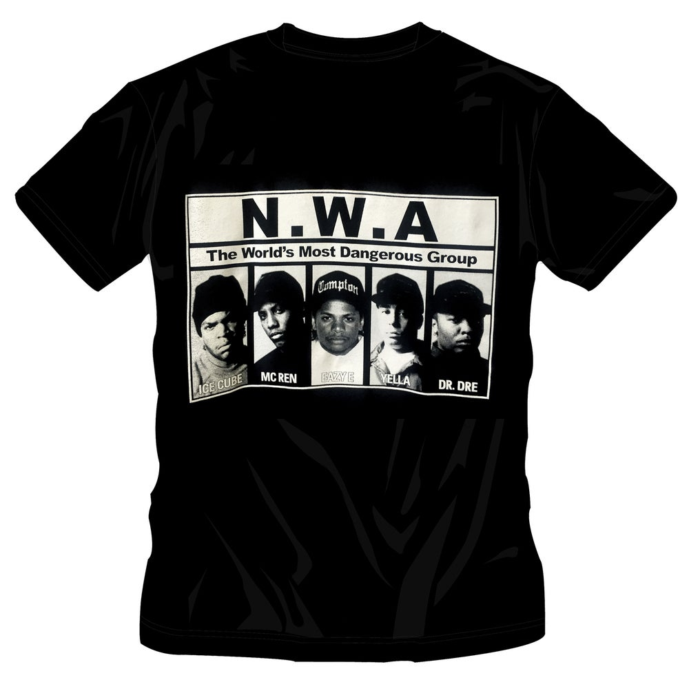 Image of N.W.A.  - GROUP T-SHIRT