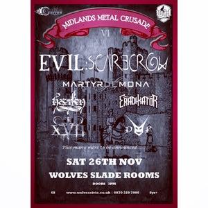 Image of FINAL SHOW! Midlands Metal Crusade - Ticket