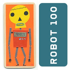 Image of ROBOT #100 - SKULLBOT!