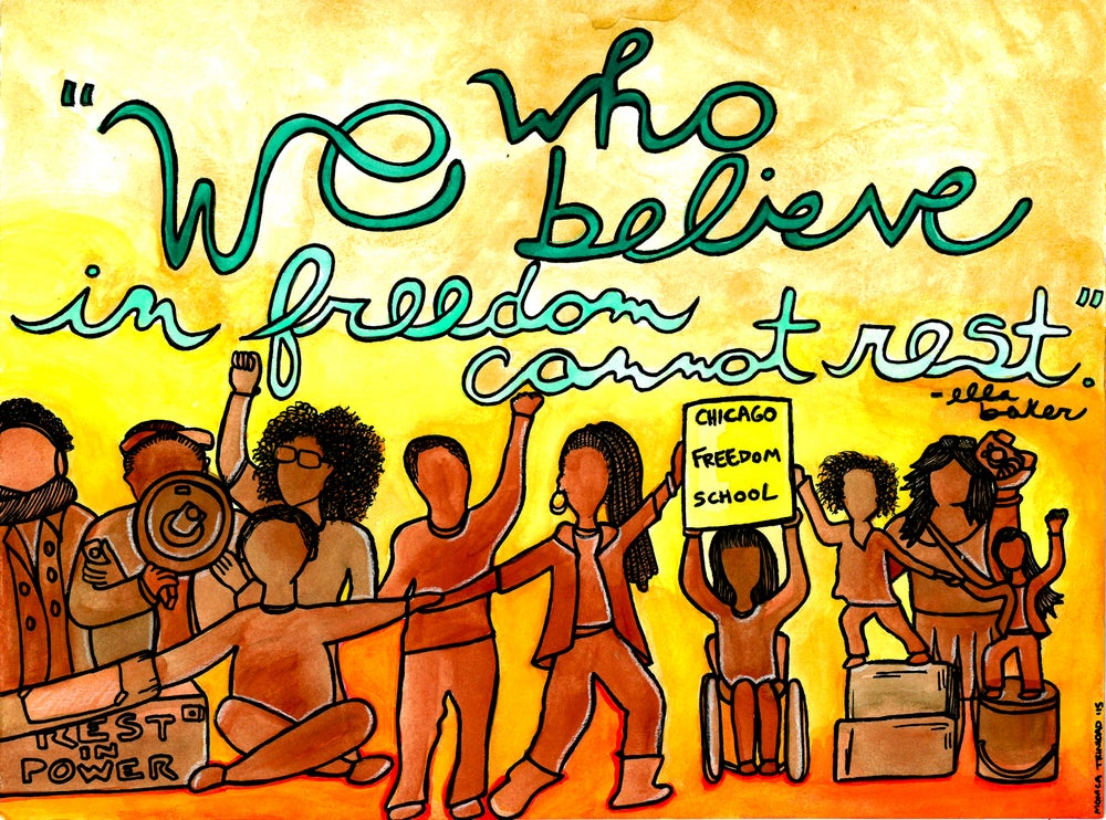 Image of We Who Believe in Freedom Cannot Rest