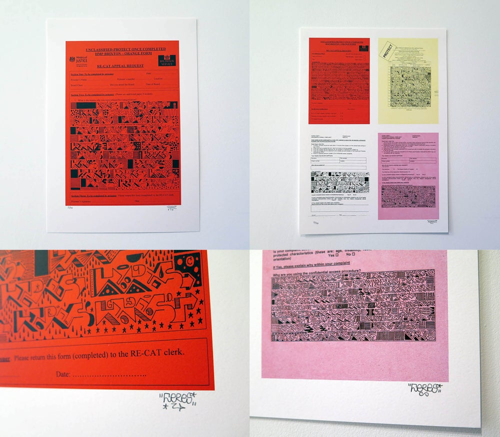 Image of Brixton Prison Form Prints