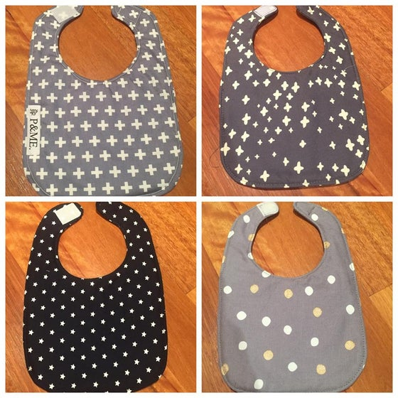 Image of BOYS// Traditional Small Double Sided Bibs