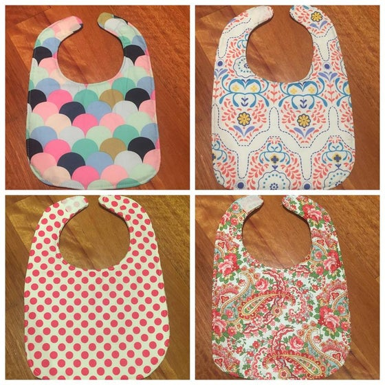 Image of GIRLS// Traditional Small Double Sided Bibs