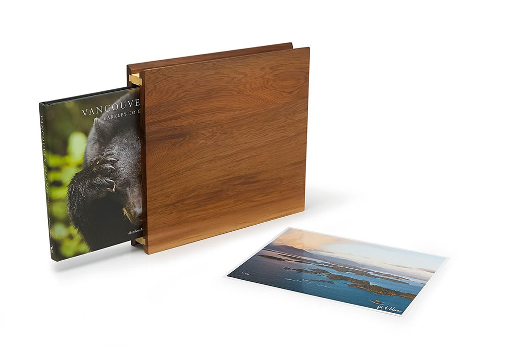 Image of Vancouver Island, Barkley To Clayoquot - limited edition box case