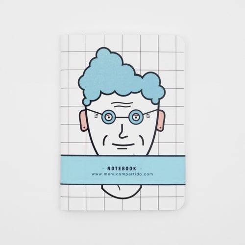Image of NOTEBOOK <b>New hair style</b>