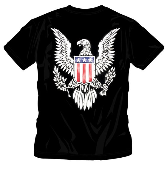 Image of CALIFORNIA  - EAGLE T-SHIRT