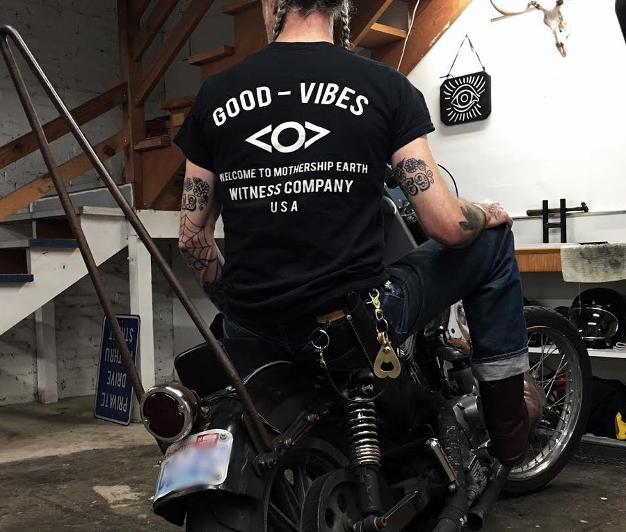 Image of GOOD-VIBES WitCo. Pocket T