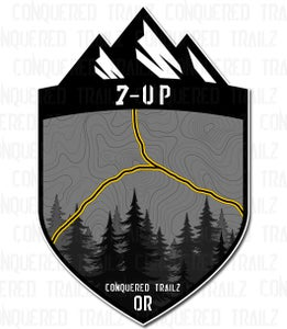 """Image of """"7-Up"""" Trail Badge"""