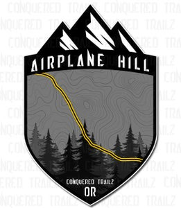 """Image of """"Airplane Hill"""" Trail Badge"""