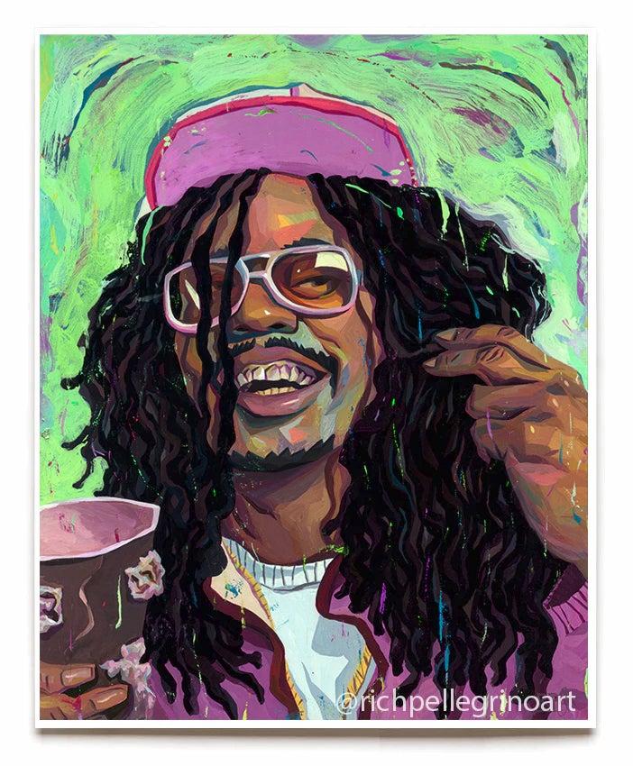 Image of Lil Jon Chappelle 16x20 Print
