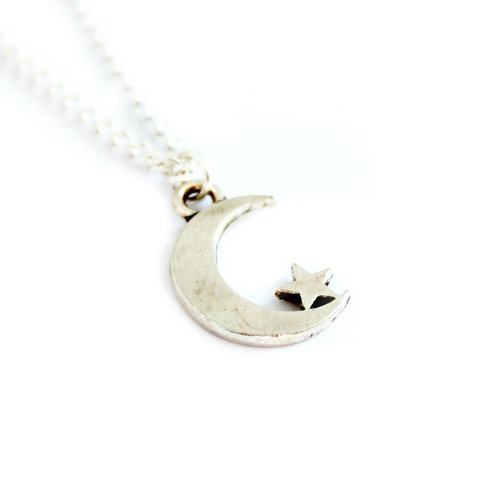 Image of MOON STAR NECKLACE/BRACELET