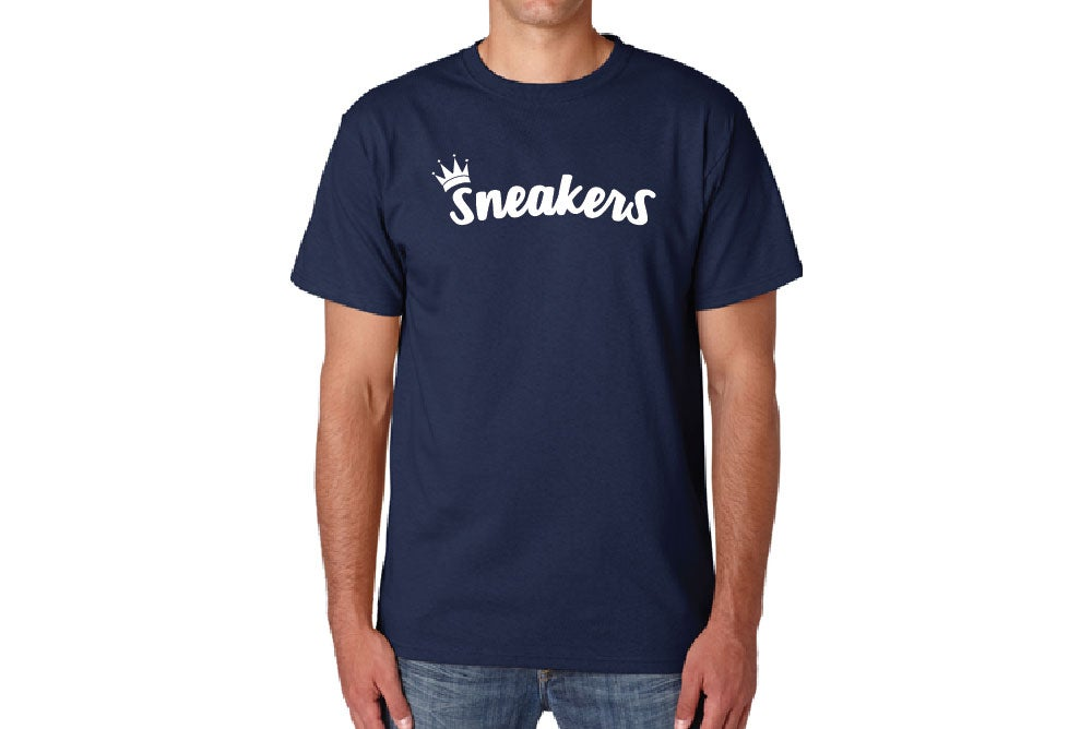 Image of New Logo V3 Tee - Navy Blue