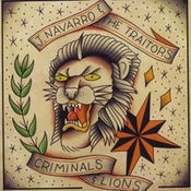 Image of J Navarro & The Traitors - Criminals & Lions LP