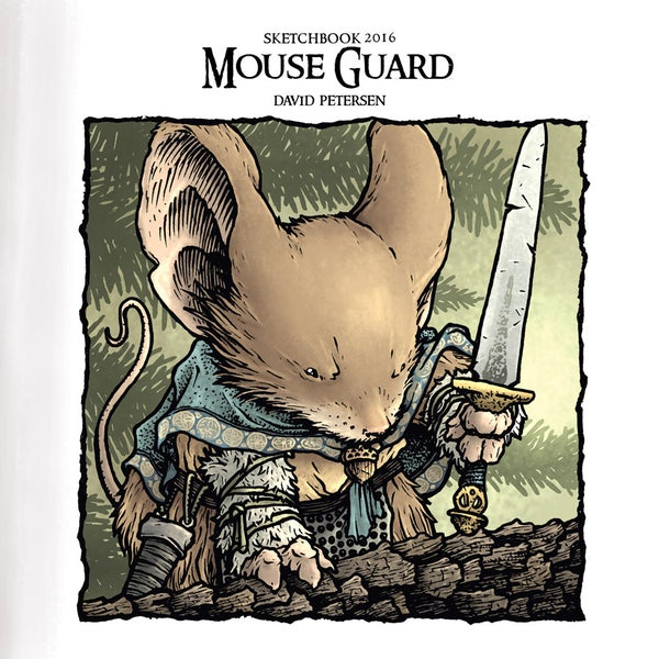 Image of 2016 Mouse Guard Sketchbook