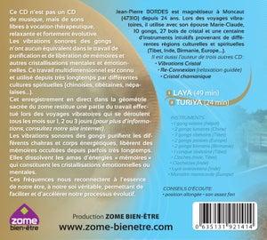 Image of CD DIMENSIONS GONGS