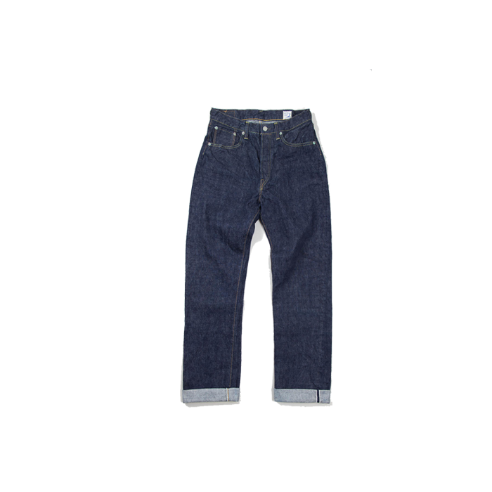 Image of orSlow - MEN'S STANDARD SELVEDGE DENIM 105
