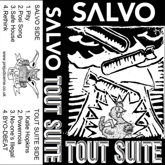 Image of Tout Suite/Salvo Self Titled Tape