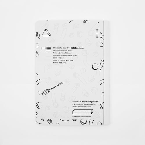 Image of NOTEBOOK <b>No Fear</b>