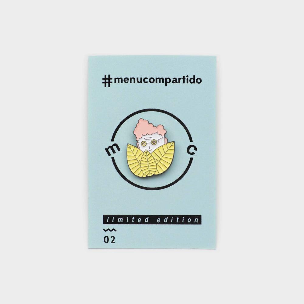 Image of ENAMEL PIN <b>¿Where is granny?</b>