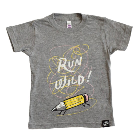 Image of RUN WILD babies + children's tee