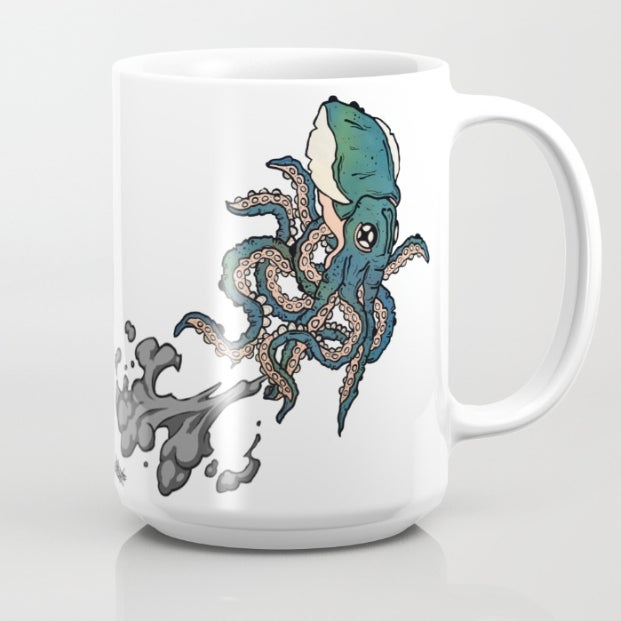 Image of SQUIDACCINO COFFEE MUG