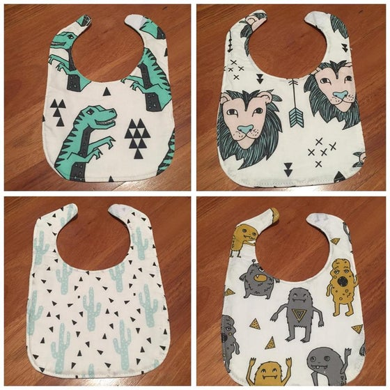 Image of 100% Organic Cotton small bibs