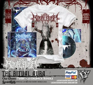 Image of THE RITUAL AURA - Our Ghosts CD/Digipack Bundle