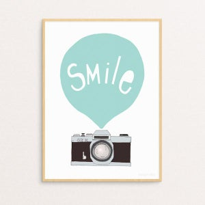 Image of SMILE MINT -printti, Seventy Tree