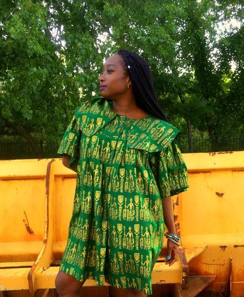 Image of African Mini Dress