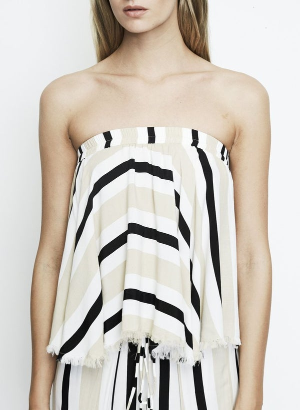 Image of Bella Top - Retro Stripes