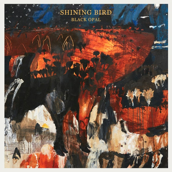 Image of shining bird 'black opal' CD