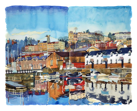 Image of Morning Light Bristol Harbour