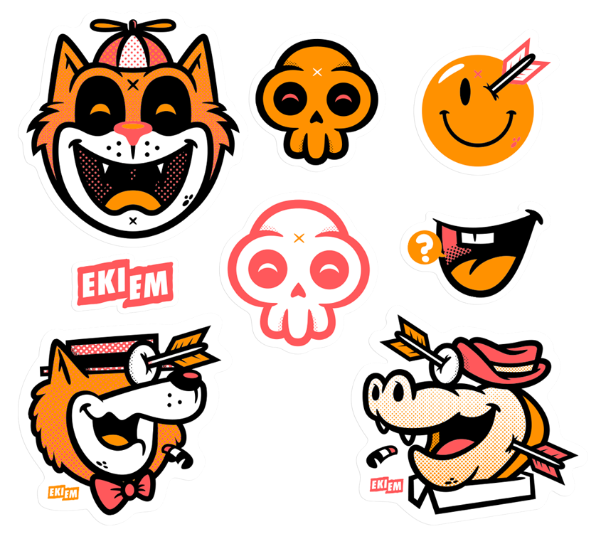 Image of Le Sticker Pack #2
